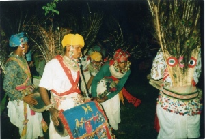 Tharu Peacock Dance in  Bardia, performance by Bardia Jungle Cottage, explore and help those with us